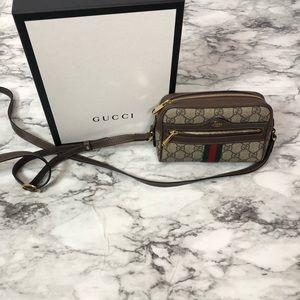 1d26ed38e5 Gucci Bags - Ophidia Small GG Supreme Crossbody Bag
